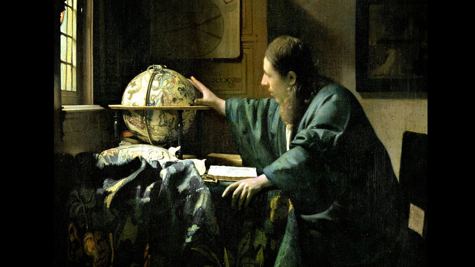 the astronomer   jan vermeer